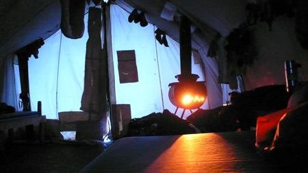 sleeping-tent